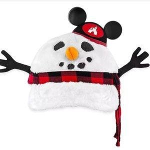 Disney parks snowman hat